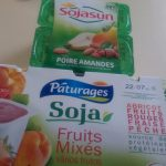 Soya Yoghurts - Pear & Almond and Various Fruit flavours