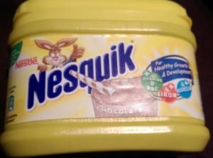nesquik chocolate