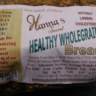 Hanna's Healthy Wholegrain Bread