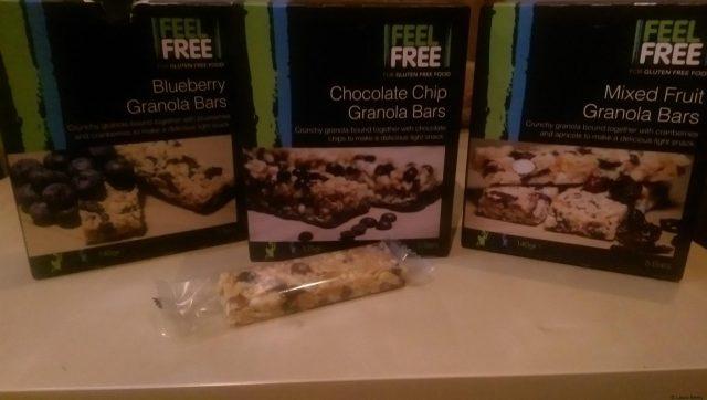 Feel Free Granola Bars