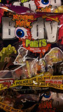 Murder Motel Body Parts