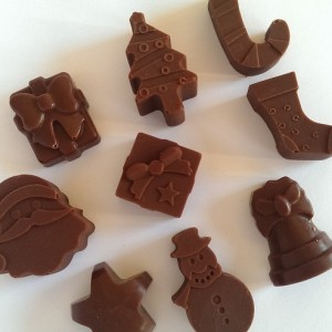 DIY Advent Calendar Chocs Image Credit: Sam's Pantry