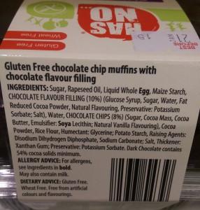 Has No... Chocolate Muffins
