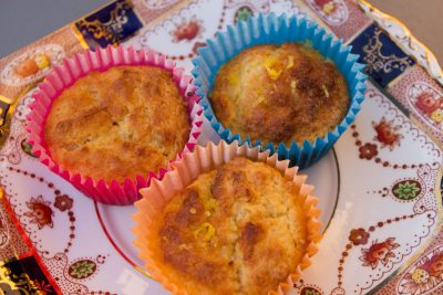 Zingy Lemon and Yogurt Muffins