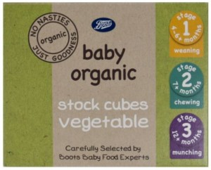 Boots Baby Organic Stock Cubes