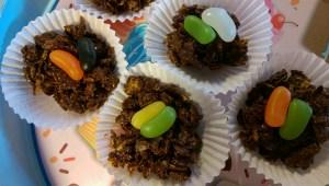 Chocolate Cornflake nests