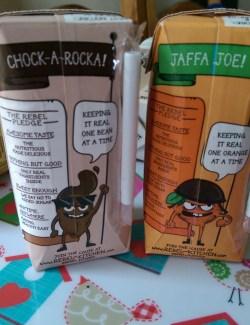 Chock-a-Rocka and Jaffa Joe