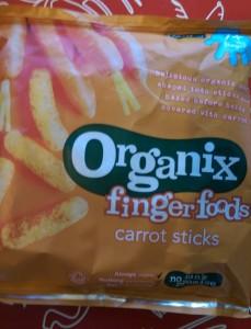 Carrot Sticks Finger Food