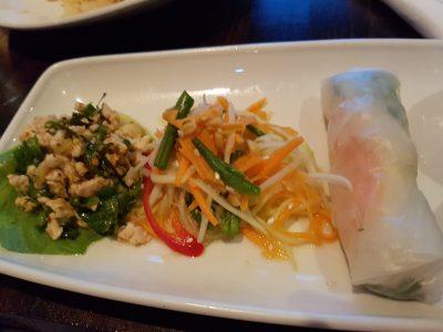 Siam Thai starters