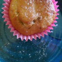Rhubarb Muffins