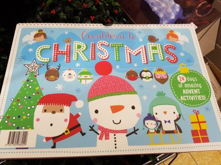advent activity book