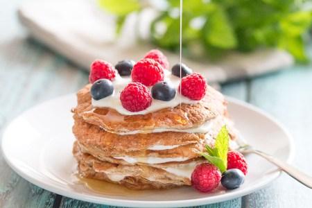 Banana-Oat-Pancakes