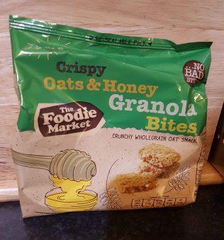 Crispy Oats Honey Granola Bites