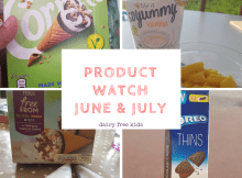 dairy free product watch