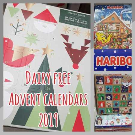 Dairy Free Advent Calendars 2019