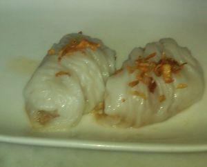 Steamed Thai dumplings