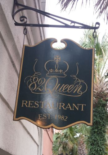 82 Queen Restaurant Sign