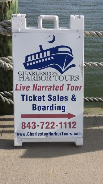 Historic Harbour Tour Sign
