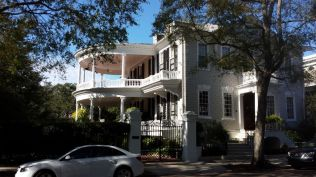 Historic home with grand porch, Charleston, SC