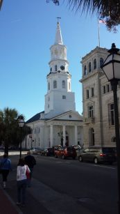 St. Michael's Episcopal Church in Charleston