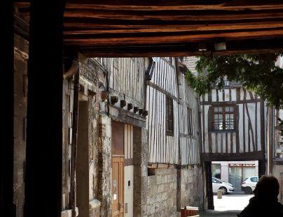 Entrance to Aitre Saint Maclou