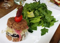Portobella and Hemp Seed Burger