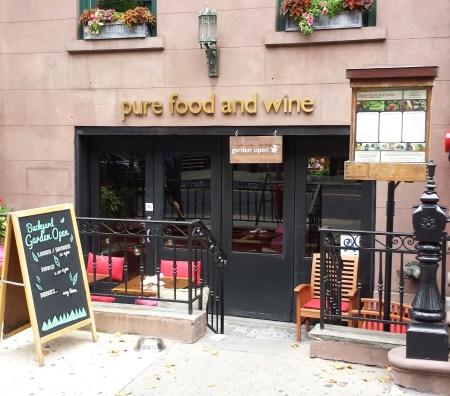 Pure Food & Wine