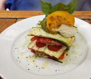 Zucchini and Greenhouse Tomato Lasagna