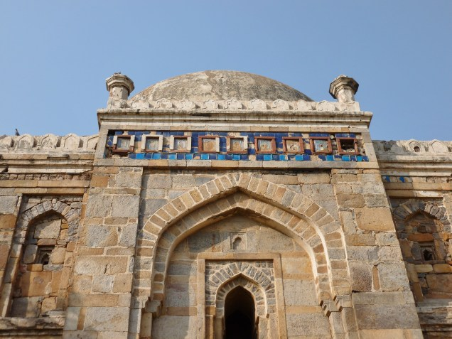 Sheesh Gumbad's Colorful Blue Tile