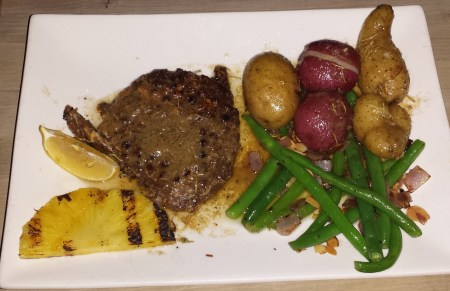 Vegan Steak and Potatoes