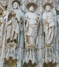 Prophets Surrounding Western Portal Detail