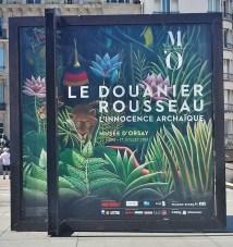 Rousseau Exhibit Sign