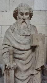 Statue of Saint Matthieu Rouen Cathedral