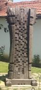 Carved Post Daskalov House
