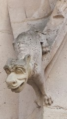 First Gargoyle on Palais de Justice Exterior