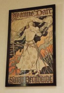 Jeanne d'Arc as Portrayed by Sarah Bernhardt