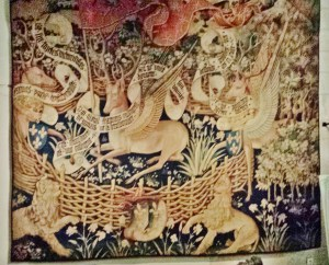 Rouen Antiquities Museum Unicorn Tapestry