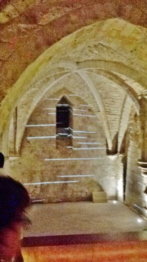 Vaulting in Gothic Crypt