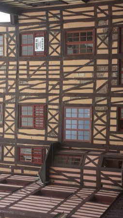 Half-timbered Houses Near Palais des Thes