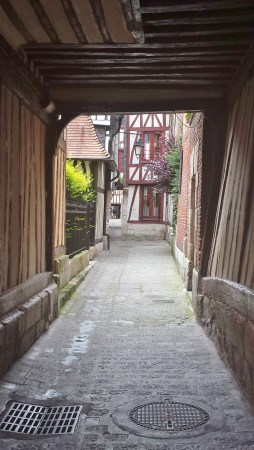 Typical Rouen Walkway