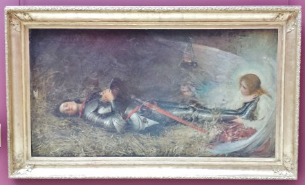 Sleeping Joan of Arc by George William Joy