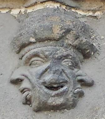 Grotesque on Exterior of Eglise Notre-Dame