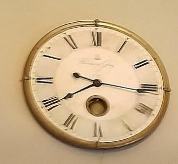 Bavarian Chef Ancient Clock