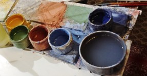Colors for Decorating Faience Pottery