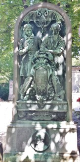 Grave of Abolitionist Victor Schoelcher and his Father Marc