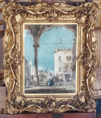 Imaginary Portico by Fracesco Guardi