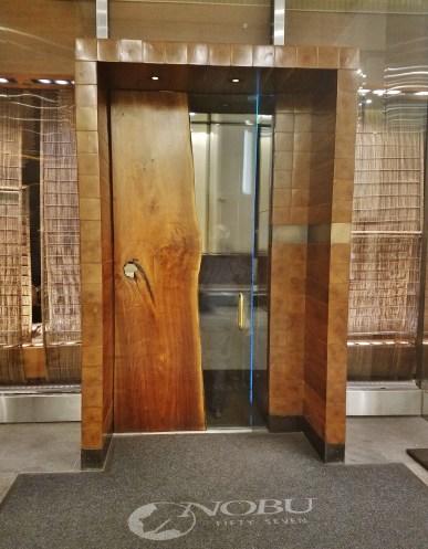Nobu Fifty Seven Entrance