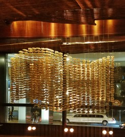 Nobu Fifty Seven Oyster Shell Chandelier
