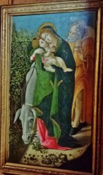 The Flight into Egypt by Botticelli