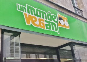 Un Monde Vegan in the Marais